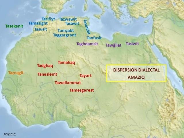 Mapa Dialectal