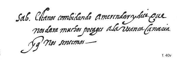 Cairasco 40v-41r Merienda